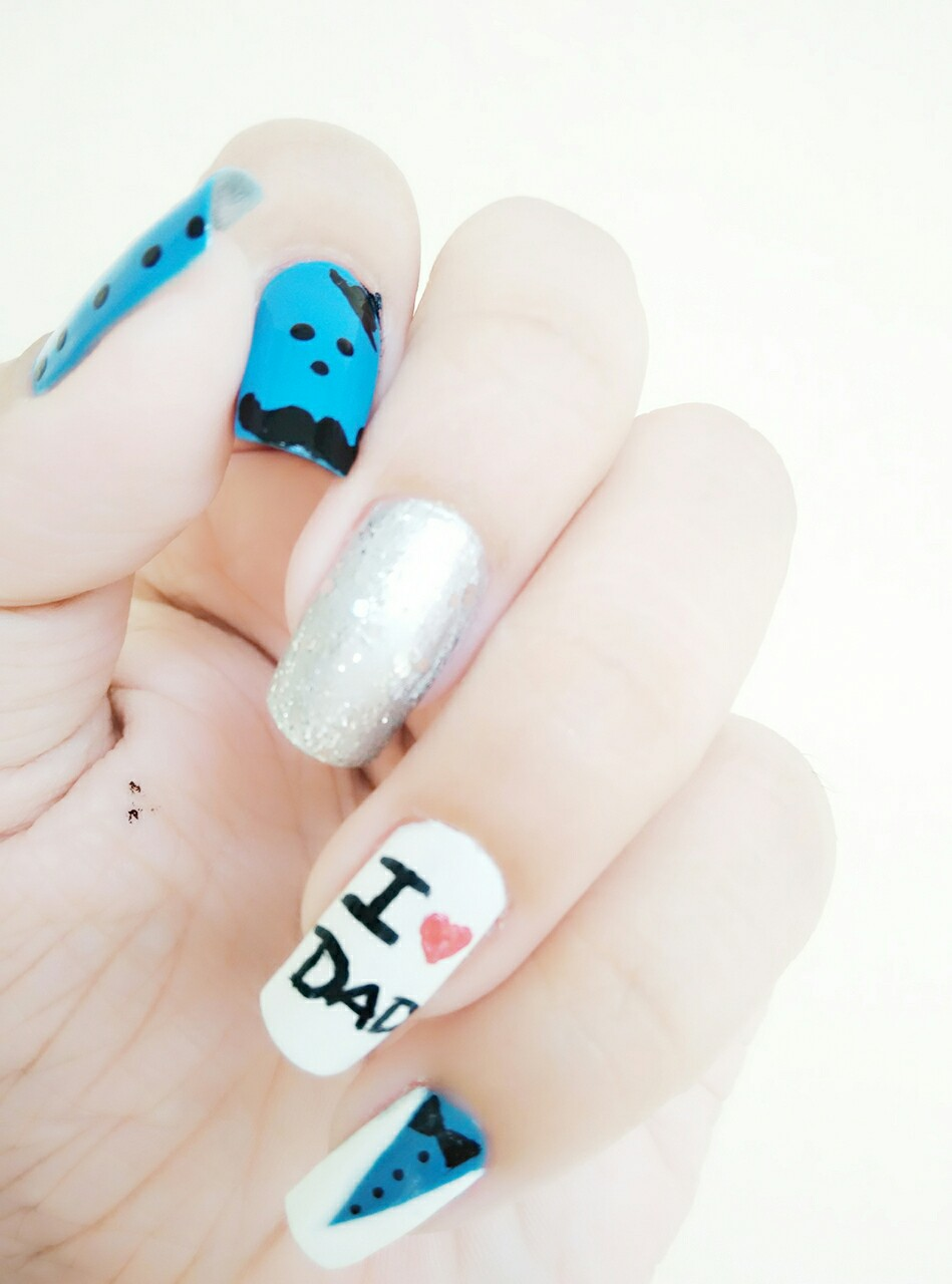 Father\'s Day Inspired Nail Art - Health & Glow