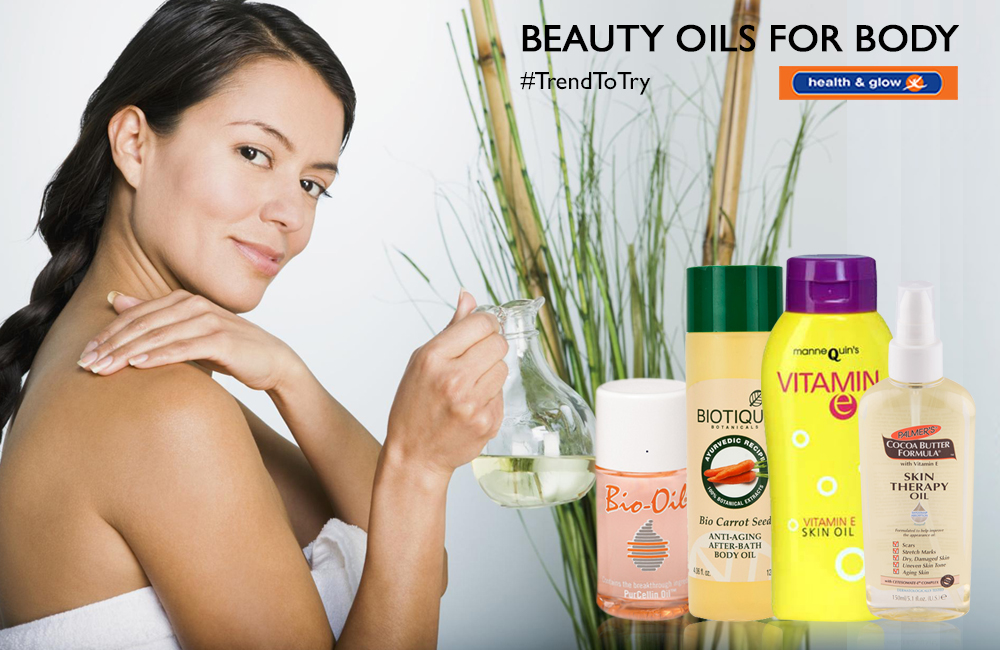 Beauty Oils for the Body