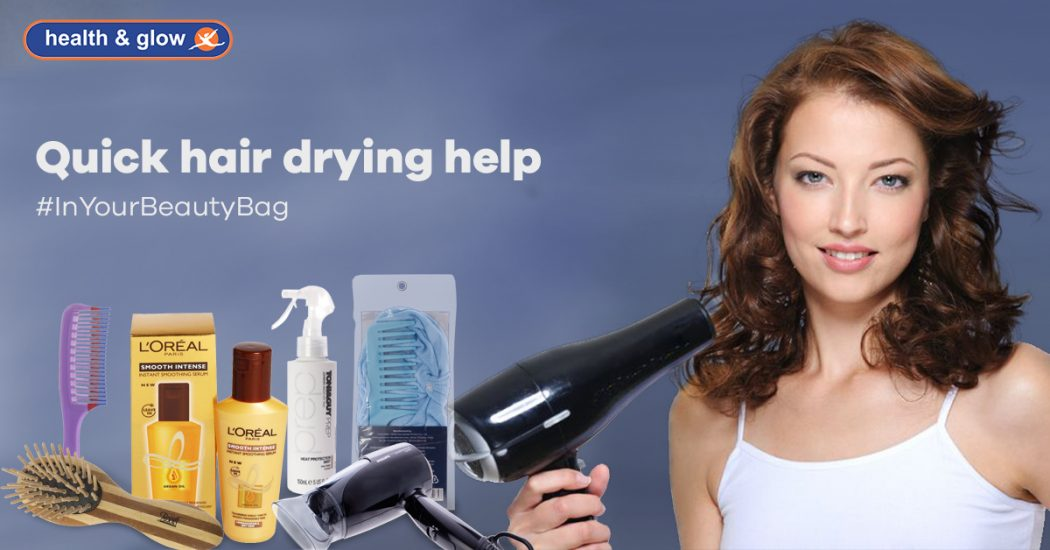 Quick Hair-Drying Help