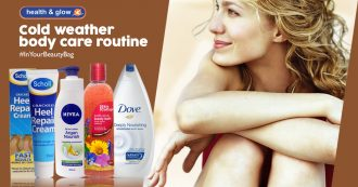 Cold weather body care routine