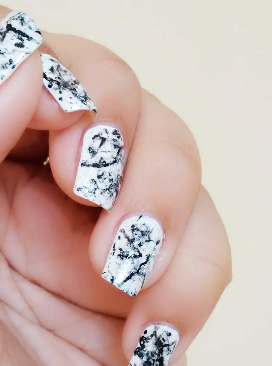 How To Get Perfect Stone Marble Nail Art Health Glow
