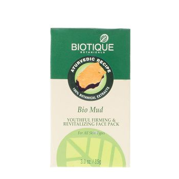 Biotique Bio Mud Youthful Firming And Revitalizing Face Pack 75gm