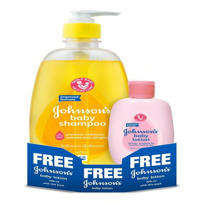 Buy Johnsons Baby No More Tears Shampoo 475ml