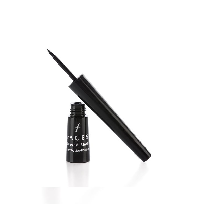 Faces Beyond Black Long Stay Liquid Eyeliner Black