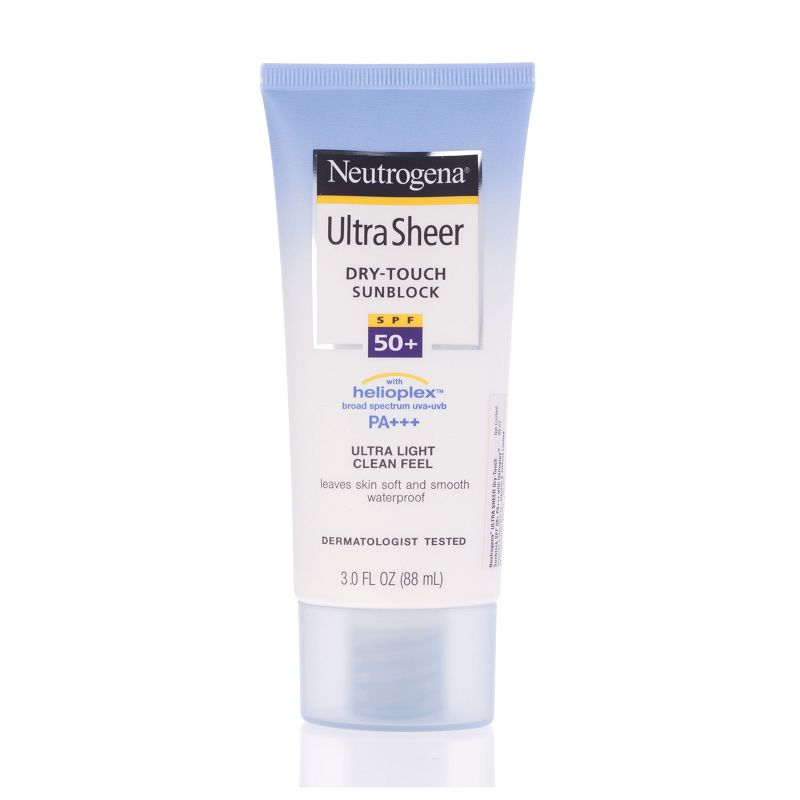 Neutrogena Ultra Sheer Dry Touch Sun Block SPF 50+ 88ml