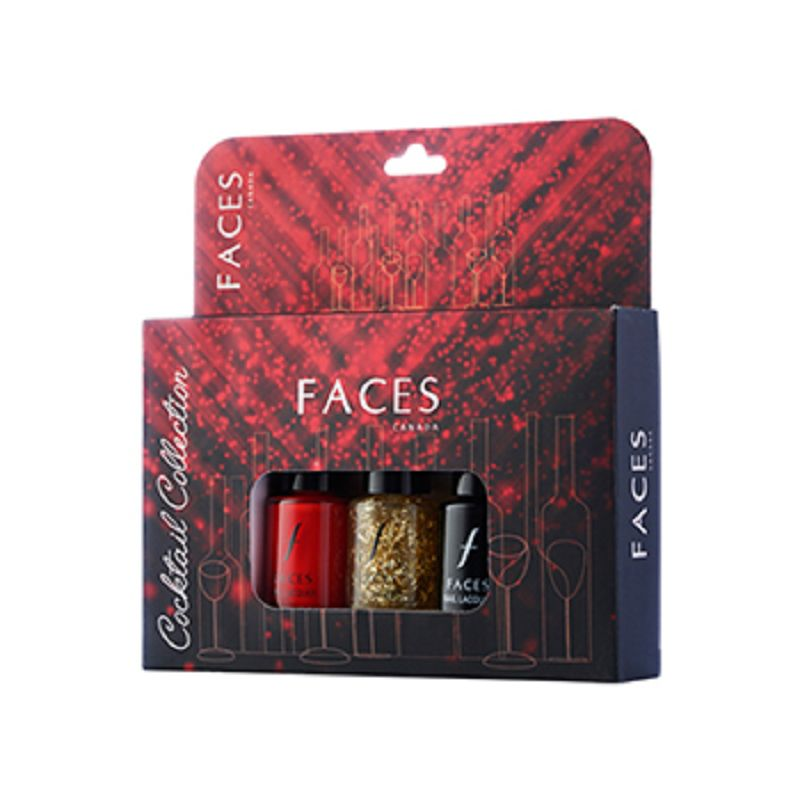 Faces Nail Laquer Kit Cocktail Collection 18ml