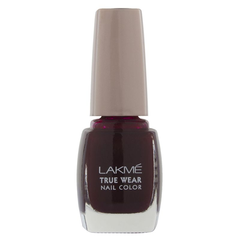 Lakme True Wear Nail Color Maroon 403 9ml