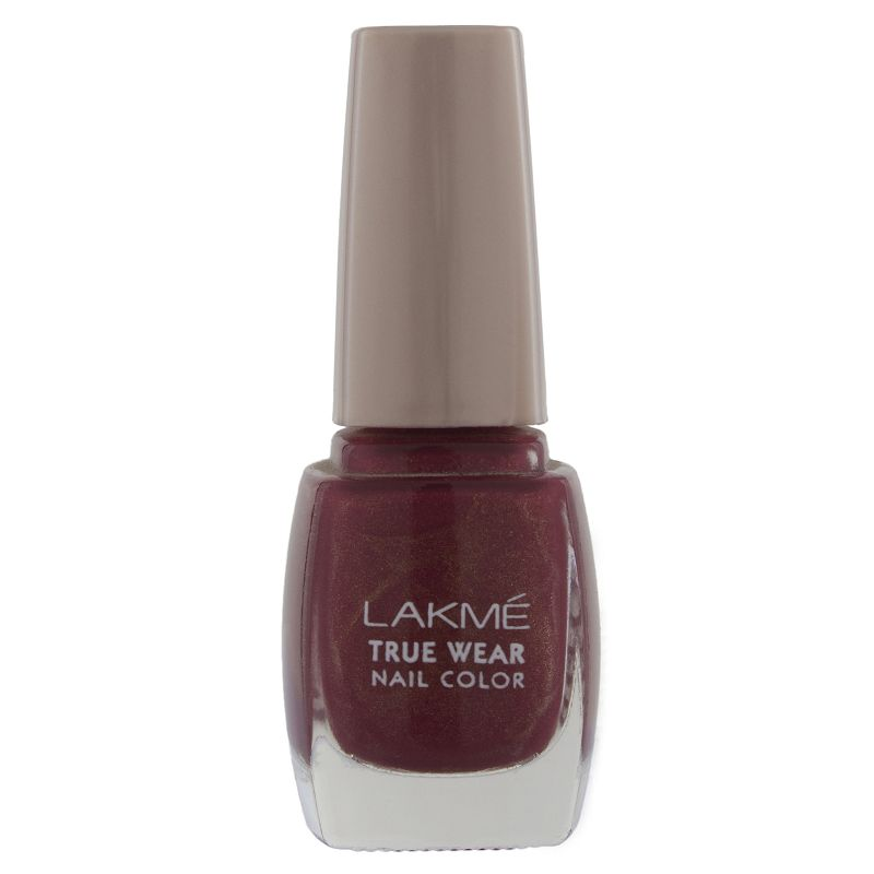 Lakme True Wear Nail Color Shimmer 401 9ml