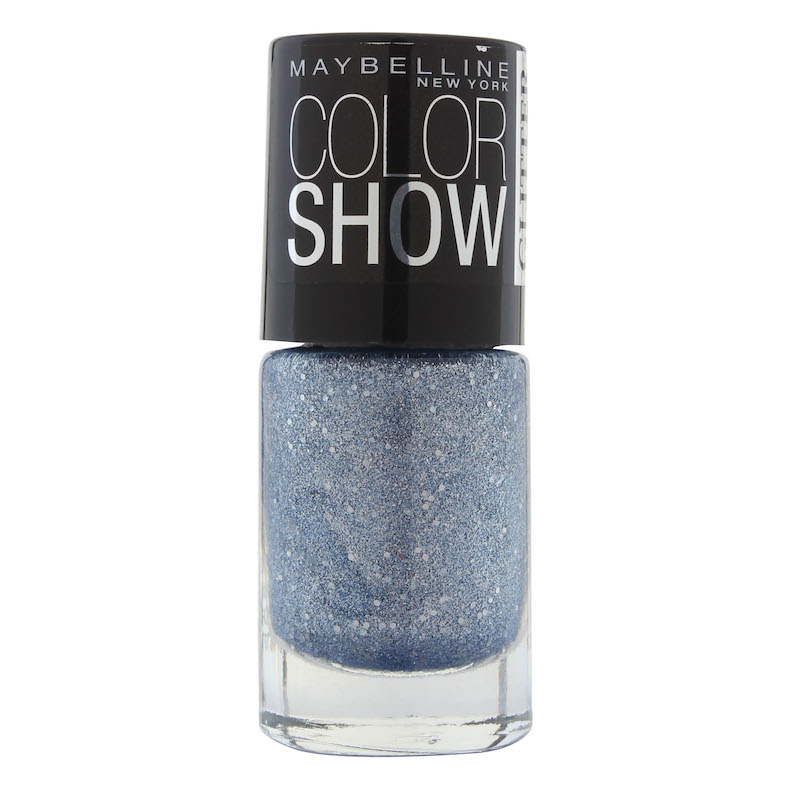 Maybelline Color Show Nail Polish Glitter Mania Bling On The Blue