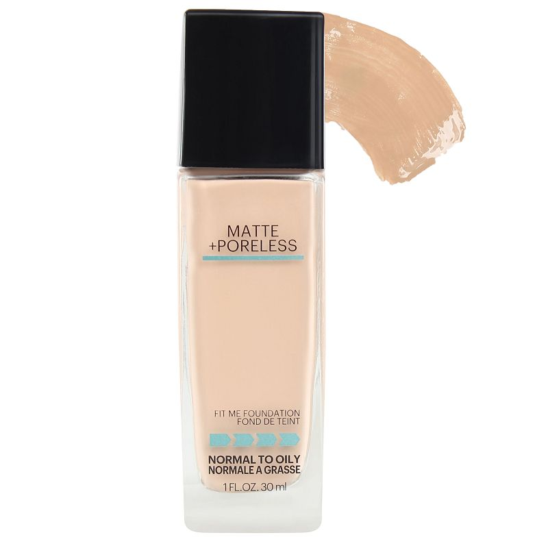 Maybelline Fit Me Matte + Poreless Foundation Warm Nude 128