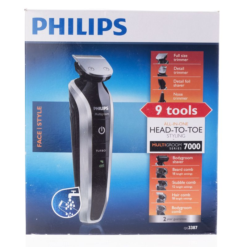 Philips Qg3387 Groom Set 8 In 1