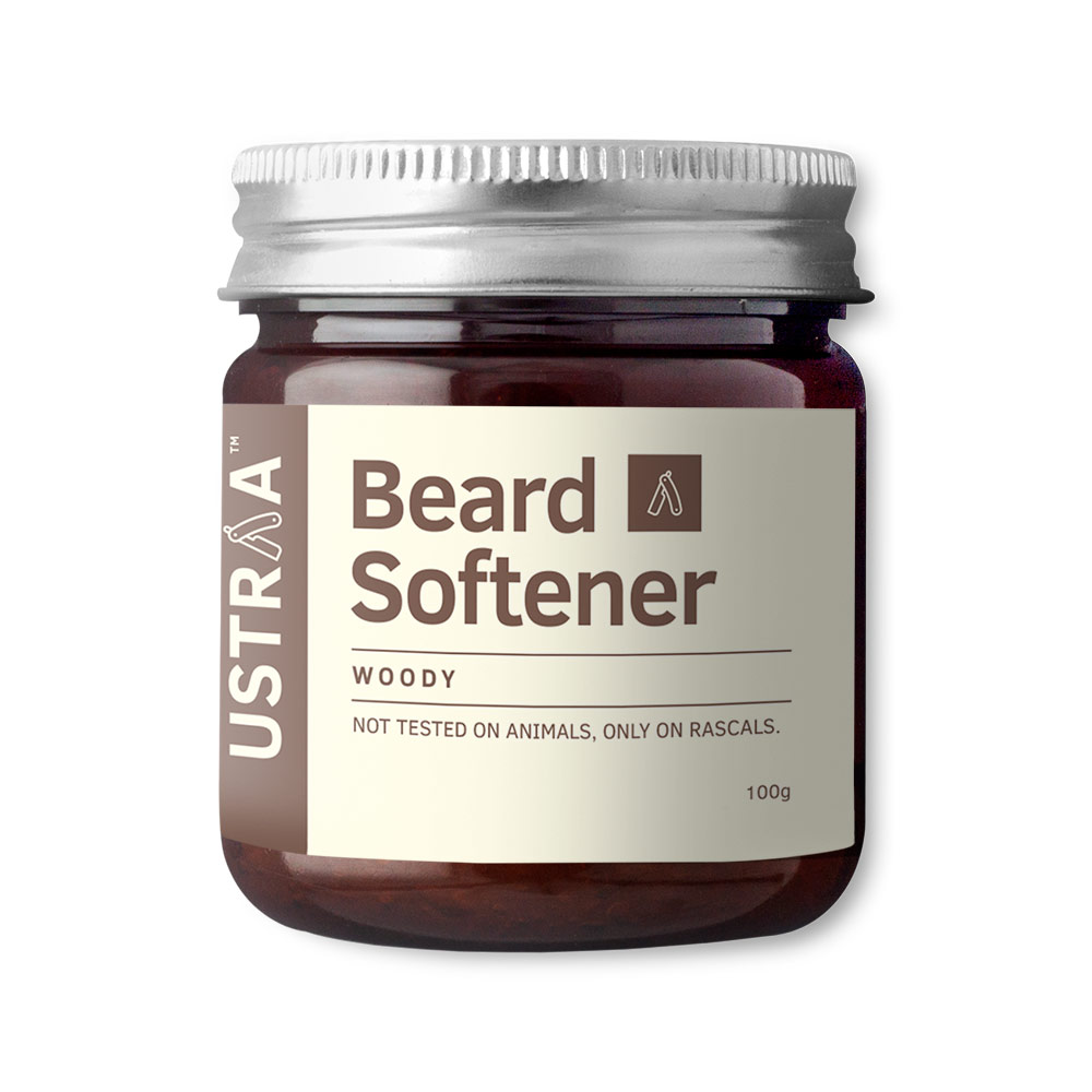 Ustraa Beard Softener Woody 100gm