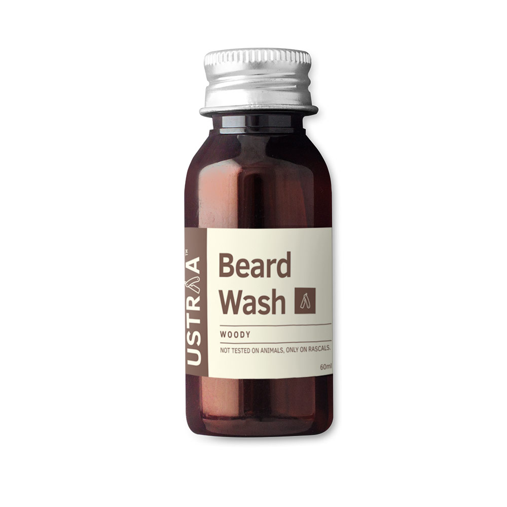 Ustraa Beard Wash Woody 60ml
