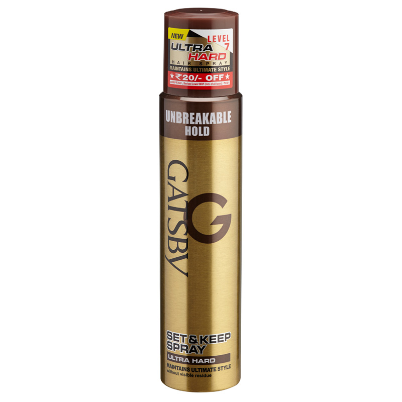 Gatsby Set And Keep Hair Spray Extreme Hold 250gm