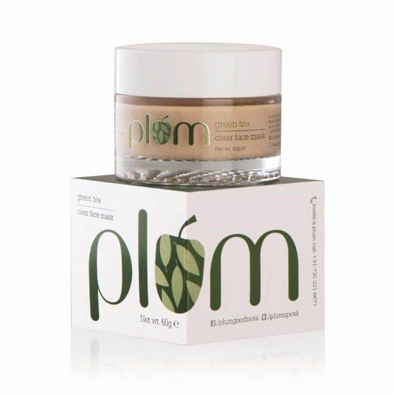 Plum Green Tea Clear Face Mask 60gm