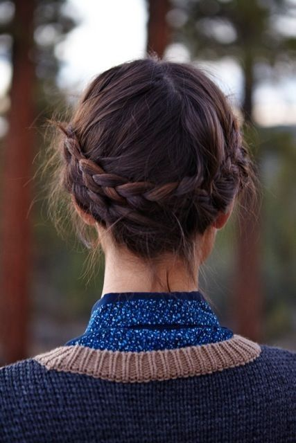 The milkmaid braid