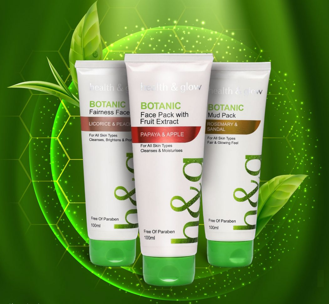 face packs - Botanic