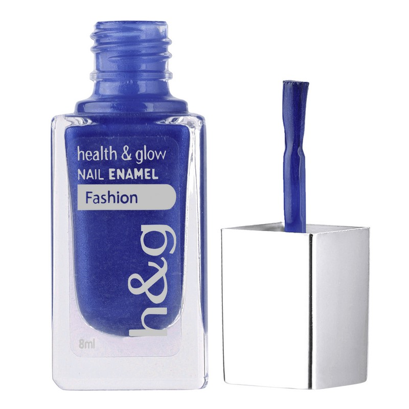 Health & Glow Fashion Nail Color Mid Night