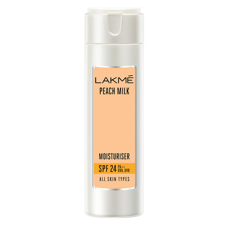 Lakme Peach Milk Moisturiser Sunscreen Lotion SPF24 60ml