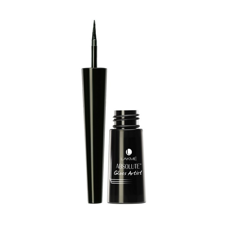 Lakme Absolute Gloss Artist Eyeliner Black