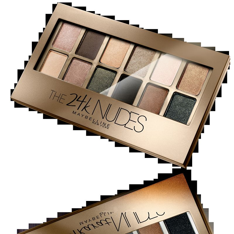 Maybelline New York The 24K Nudes Eyeshadow Palette Ivory