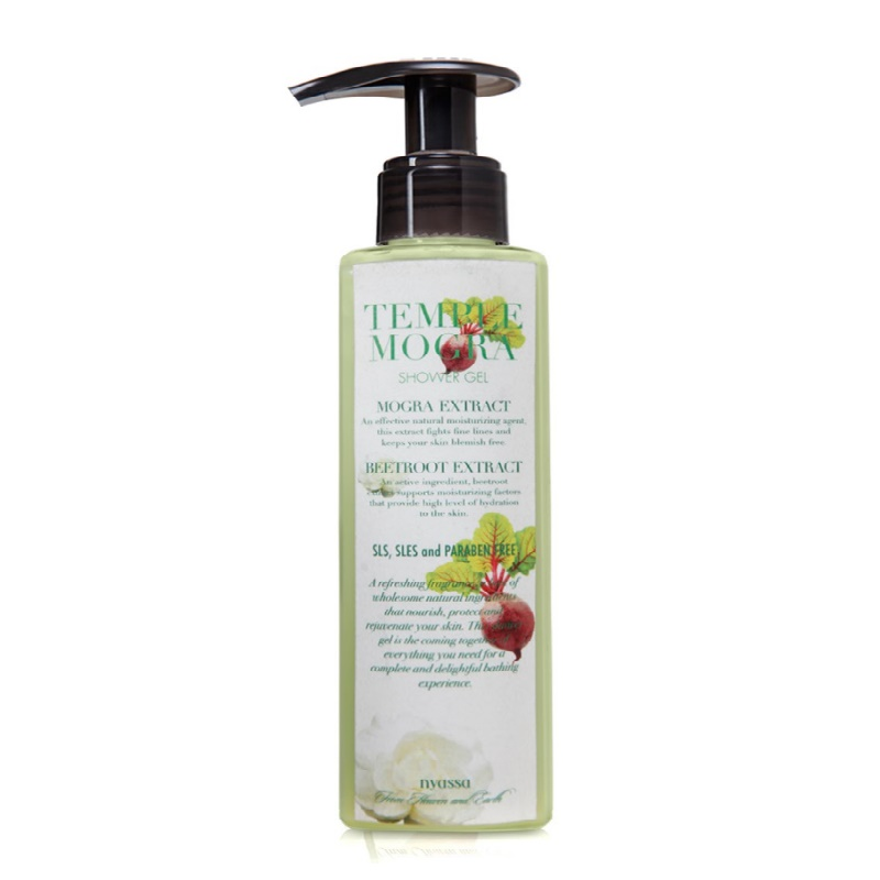 Nyassa Temple Mogra Shower Gel SLS SLES & Paraben Free 145ml