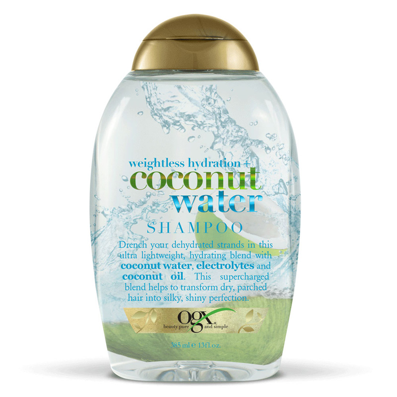 Organix Weightless Hydration Coconut Water Shampoo 385ml