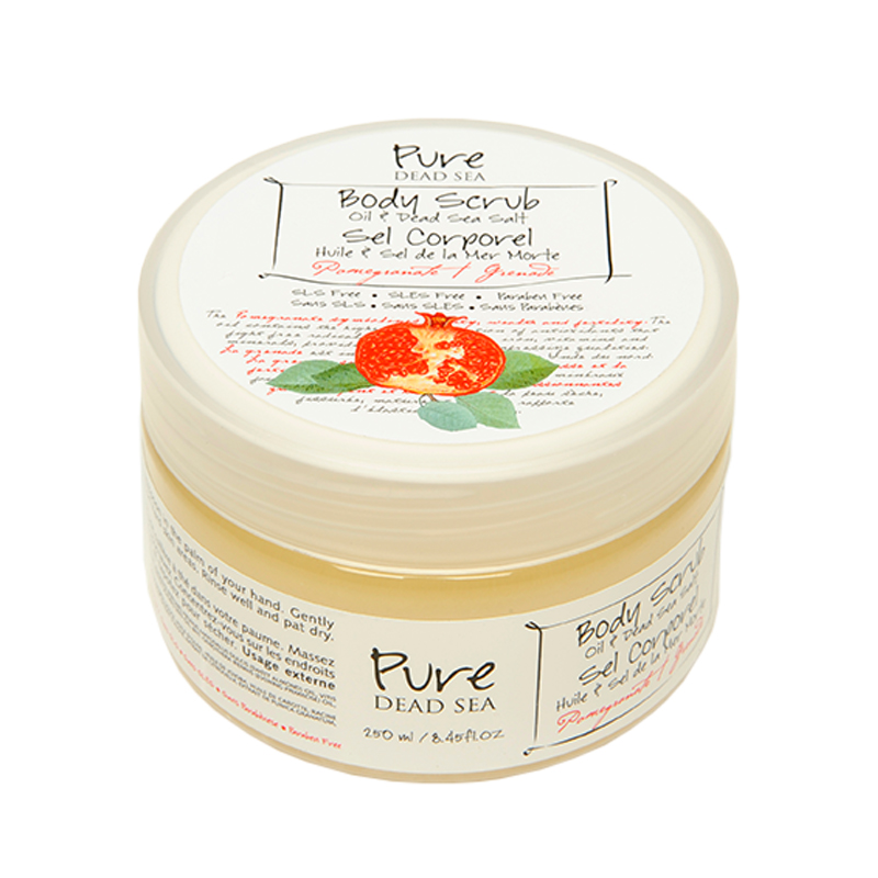Pure Dead Sea Pomegranate Body Scrub 250ml