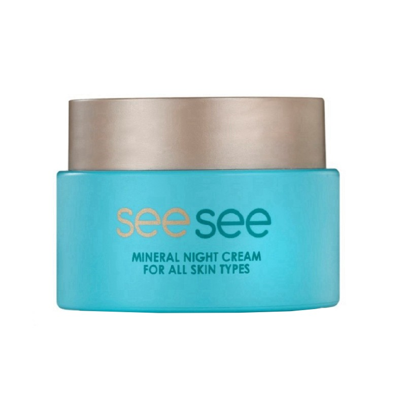 Seesee Dead Sea Mineral Night Cream For All Skin Types 50ml