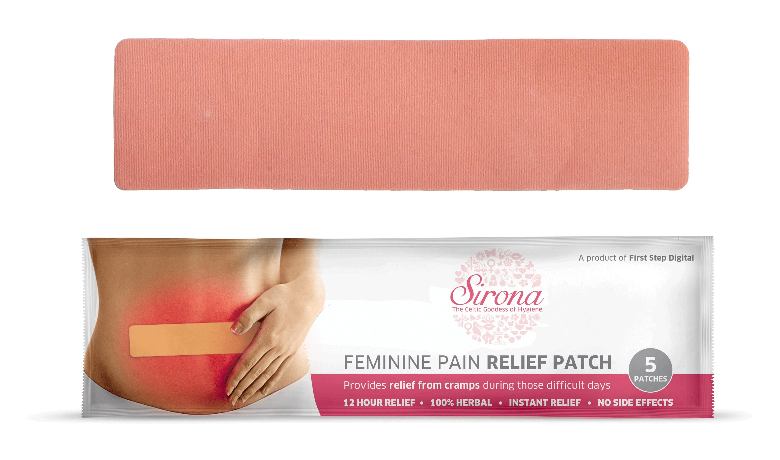 Sirona Feminine Pain Relief Patch Pack Of 5
