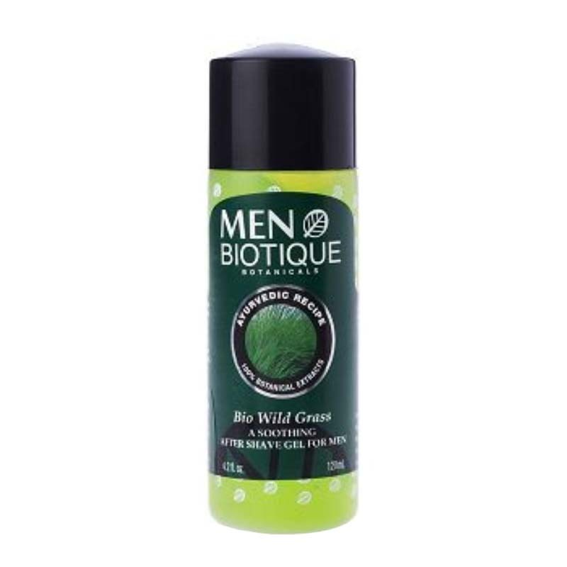 Biotique Men Bio Wild Grass After Shave Gel 120ml