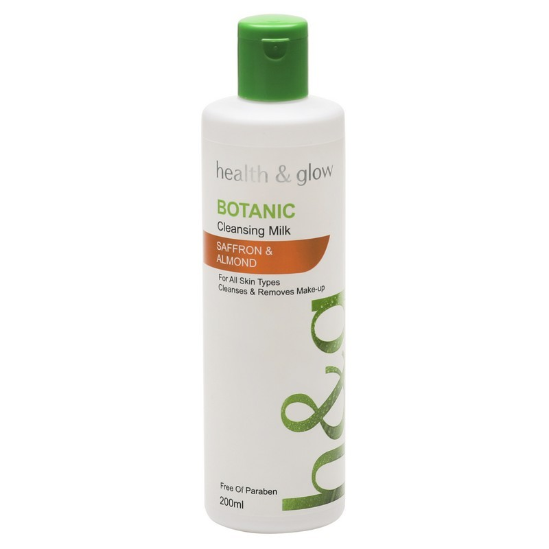Botanic Safron & Almond Cleansing Milk 200ml