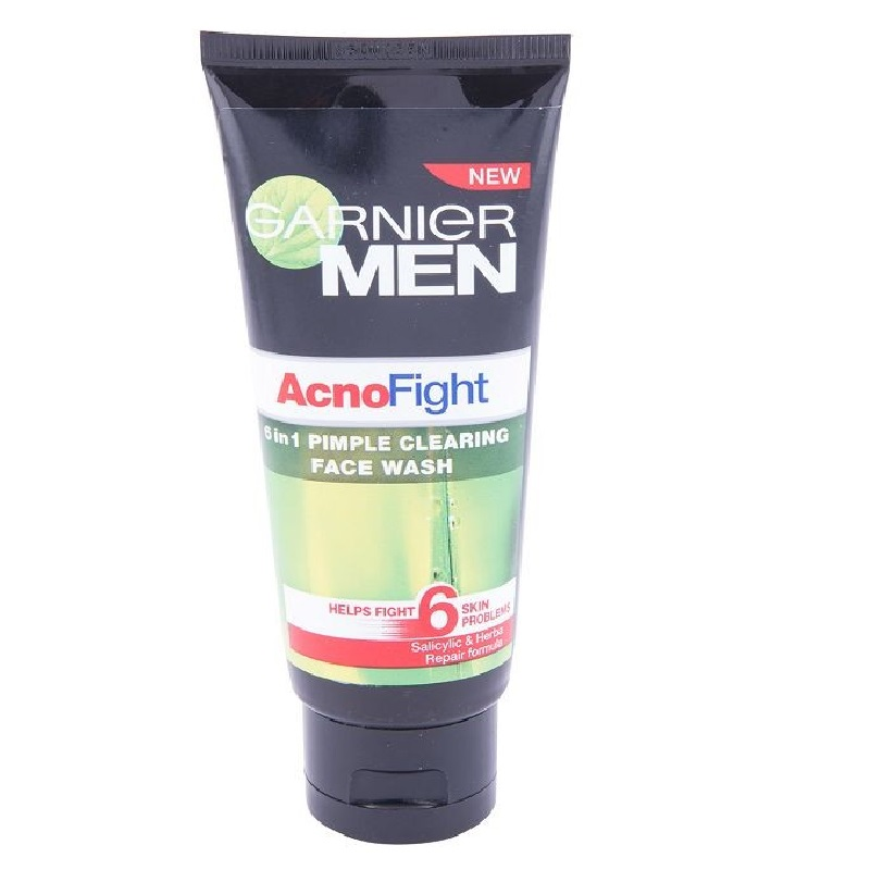 Garnier Men Acno Fight 6 In 1 Pimple Clearing Face Wash 100ml