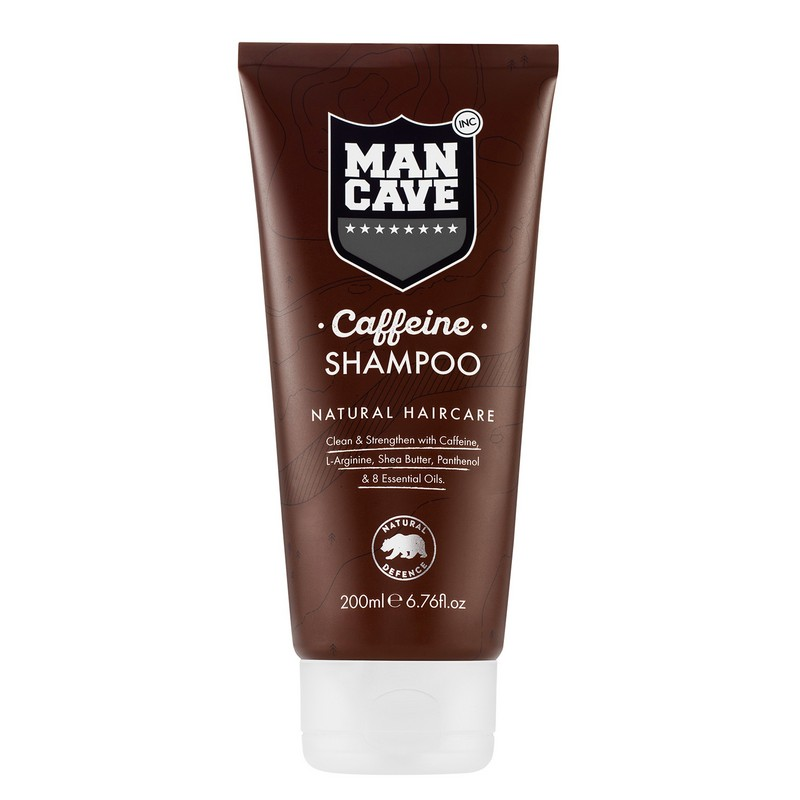 ManCave Caffiene Shampoo For Men 200ml
