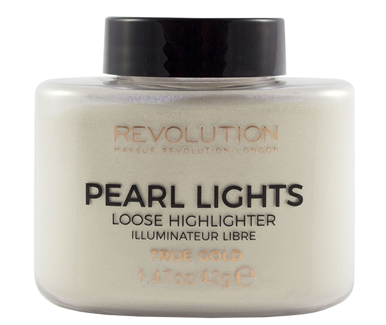 Makeup Revolution London Pearl Lights Loose Highlighter True Gold