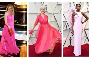 Oscars 2019: Pink-Spirational Styles From The Lady Stars