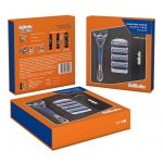 Gillette Fusion Signature Razor With Travel Case