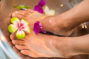 Monsoon Rituals: At Home Foot Spa