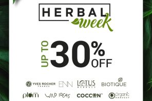 Herbal Week: The No Nasties Sale
