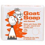Goat Soap With Oatmeal 100gm