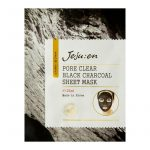 Jejuen Pore Clear Black Charcoal Sheet Mask