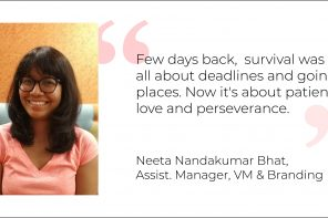 Exploring In Lockdown: Keeping It Glowing With Neeta NandaKumar Bhat