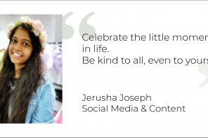 Finding Happiness: Keeping It Glowing With Jerusha Joseph