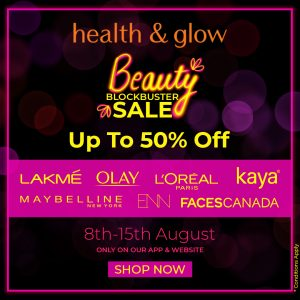 Up To 50% Off, Only On Beauty Blockbuster Sale