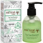 Natural Vibes Ayurvedic Tea Tree Shampoo