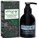 Natural Vibes Activated Charcoal Tea Tree Face Wash