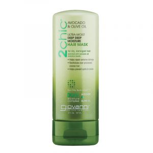 Giovanni 2chic Ultra-Sleek Leave-In Hair Conditioning Styling With Brazilian Keratin Argan Oil