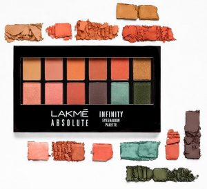 Lakme Absolute Infinity Eyeshadow Palette Coral Sunset
